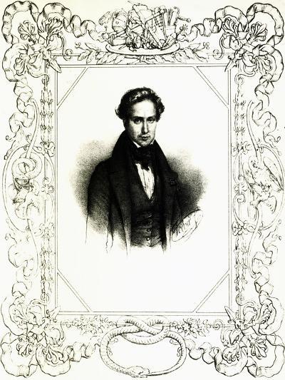 Portrait of Victor Hugo--Giclee Print