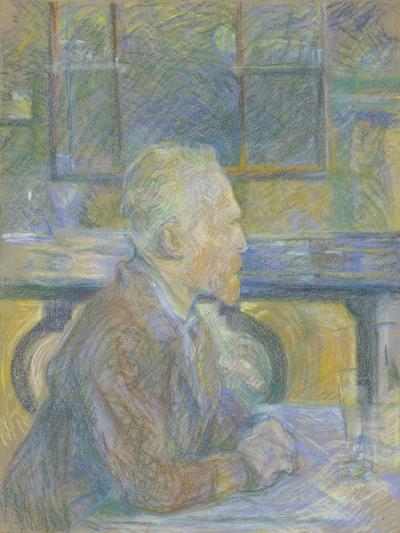 Portrait of Vincent van Gogh, 1887-Henri de Toulouse-Lautrec-Giclee Print