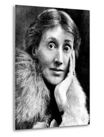 Portrait of Virginia Woolf, English Novelist and Essayist