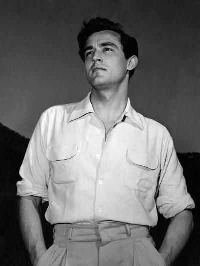Portrait of Vittorio Gassman--Photographic Print