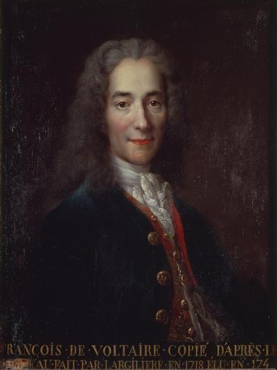 Portrait of Voltaire-Catherine Lusurier-Giclee Print