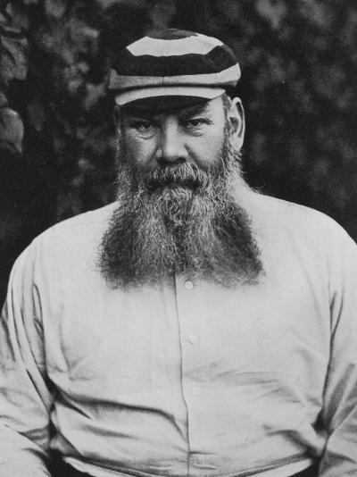Portrait of W G Grace-F.t. Beeson-Photographic Print