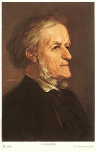 Portrait of Wagner