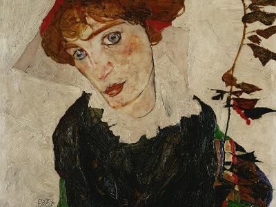 Portrait of Wally, 1912-Egon Schiele-Giclee Print
