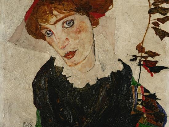 Portrait of Wally, 1912-Egon Schiele-Giclee Print