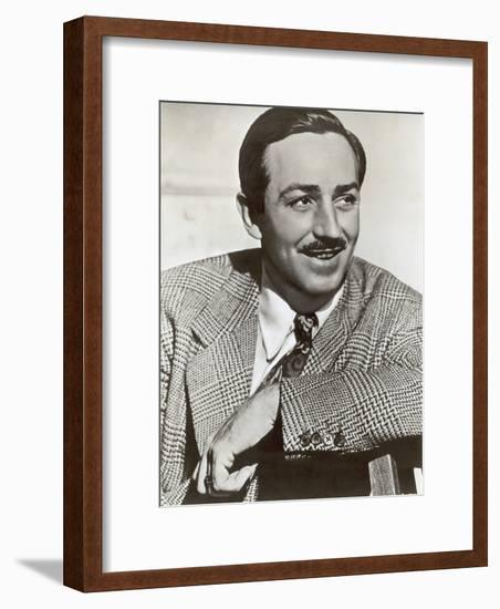 Portrait of Walt Disney, c.1940-German photographer-Framed Photographic Print