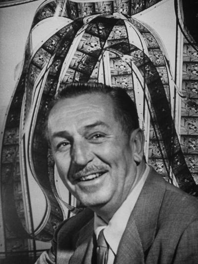 Portrait of Walt Disney, of Walt Disney Studios-J^ R^ Eyerman-Premium Photographic Print
