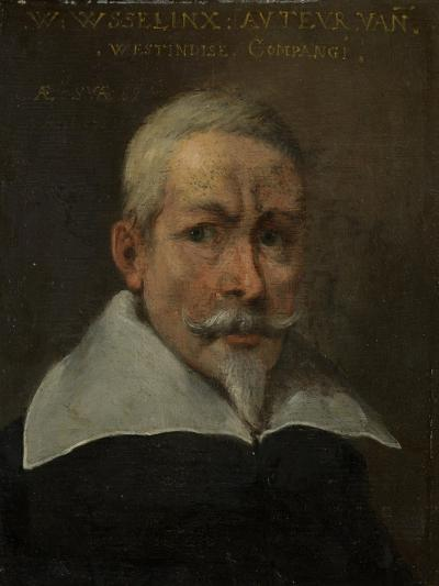 Portrait of Willem Usselinx, Merchant and Founder of the Dutch West Indies Company--Art Print