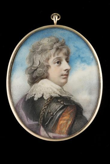 Portrait of William, 3rd Viscount Courtenay-Richard Cosway-Giclee Print