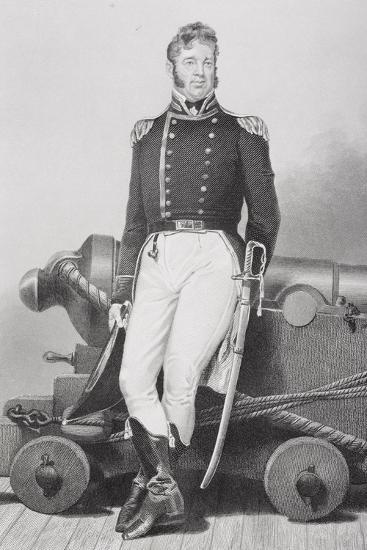 Portrait of William Bainbridge (1774-1833)-Alonzo Chappel-Giclee Print