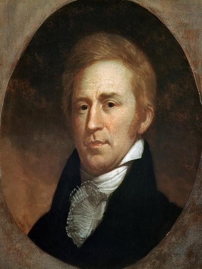 Portrait of William Clark, American Explorer and Governor of Missouri Territory--Giclee Print