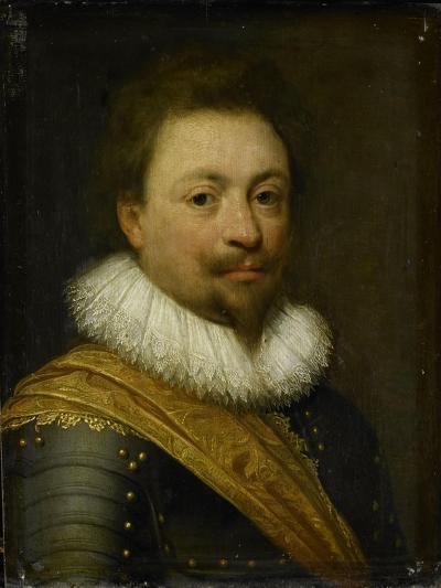 Portrait of William, Count of Nassau-Siegen-Jan Antonisz van Ravesteyn-Art Print