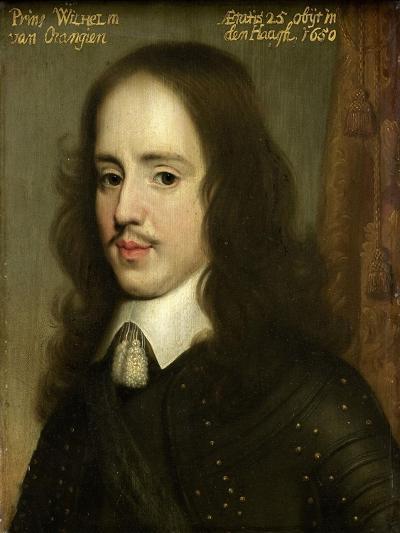 Portrait of William II, Prince of Orange-Gerard Van Honthorst-Art Print