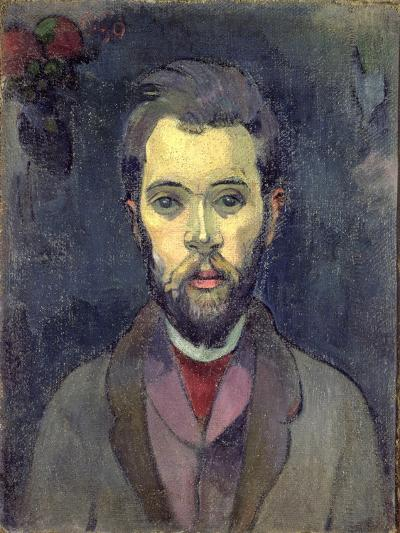 Portrait of William Molard, Swedish Composer, circa 1893-94-Paul Gauguin-Giclee Print