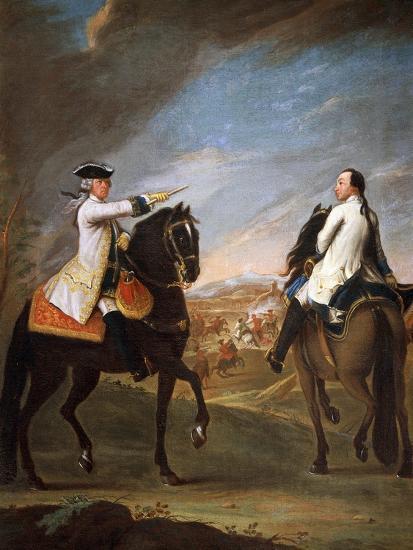 Portrait of William Montfort, 1755-Pietro Longhi Antonio-Giclee Print