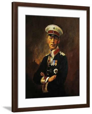Portrait of William of Prussia--Framed Giclee Print
