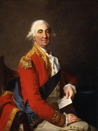 Portrait of William Petty, 2nd Earl of Shelburne, 1st Marquis of Lansdowne (1737-1805)-Jean Laurent		 Mosnier-Giclee Print