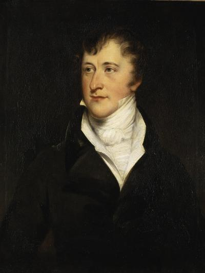 Portrait of William Spencer Cavendish, 6th Duke of Devonshire, 1820-29-Thomas Lawrence-Giclee Print