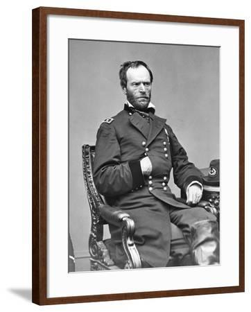 Portrait of William T. Sherman--Framed Photographic Print