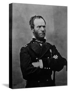 Portrait of William Tecumseh Sherman, Union General During the Civil War