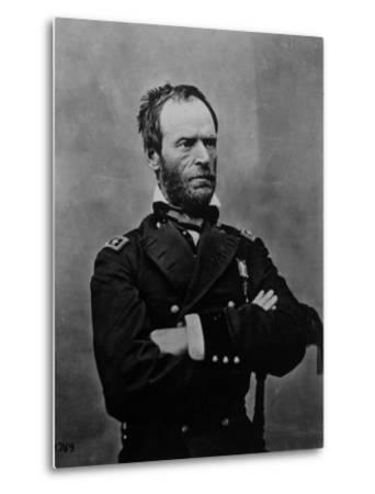 Portrait of William Tecumseh Sherman, Union General During the Civil War