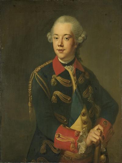 Portrait of William V, Prince of Orange-Nassau-Johann Georg Ziesenis-Art Print