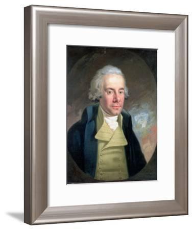 Portrait of William Wilberforce (1759-1833), 1794-Anton Hickel-Framed Giclee Print