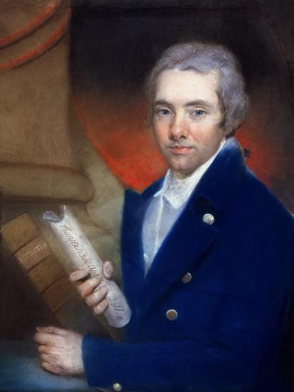 Portrait of William Wilberforce (1759-1833) by William Lane (1746-1819)-John Russell-Giclee Print