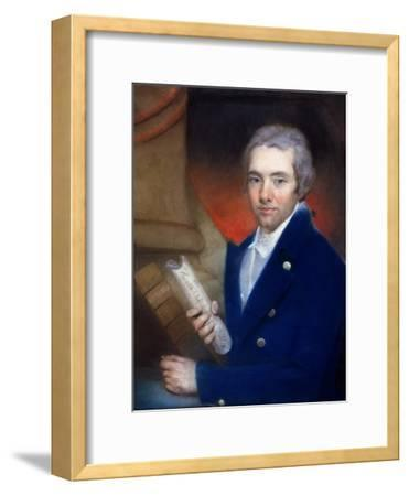 Portrait of William Wilberforce (1759-1833) by William Lane (1746-1819)-John Russell-Framed Giclee Print