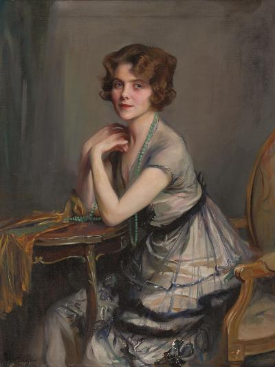 Portrait of Winnie Melville, Mrs, 1920-Philip Alexius De Laszlo-Giclee Print