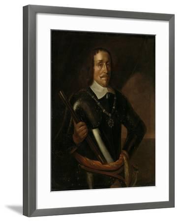 Portrait of Witte Cornelisz De With, Vice-Admiral of Holland and West-Friesland-Hendrick Martensz Sorgh-Framed Art Print