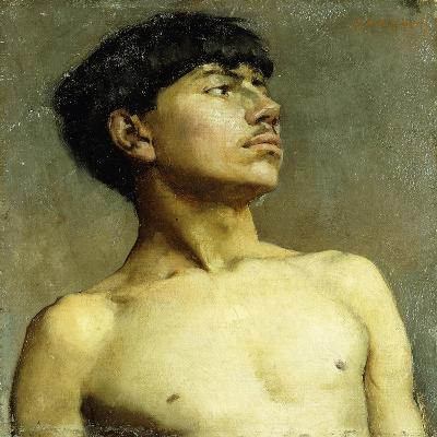 Portrait of Xavier Martinez-Arthur Frank Mathews-Giclee Print