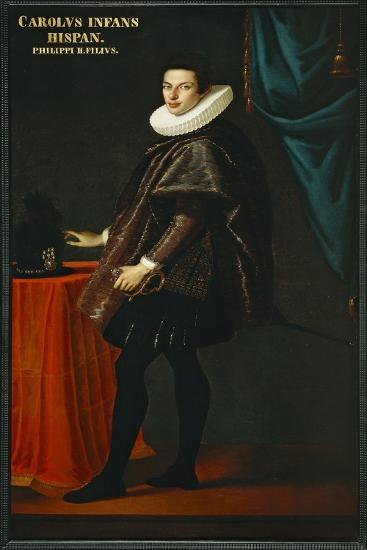 Portrait of Young Charles of Habsburg--Giclee Print