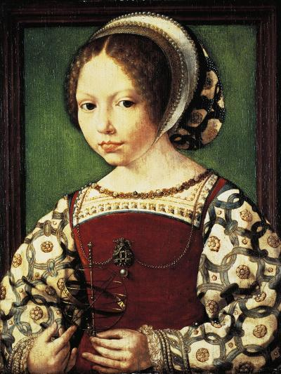 Portrait of Young Girl--Giclee Print