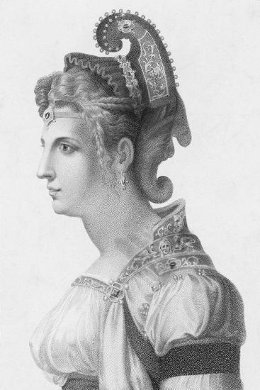 Portrait of Zenobia--Giclee Print