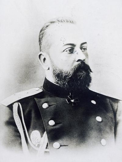Portrait Photograph of Aleksandr Samsonov Vassilievich--Giclee Print