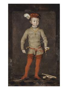 Portrait présumé d'Henri IV enfant
