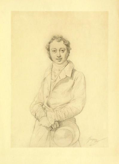 Portrait Raoul Rochette-Jean-Auguste-Dominique Ingres-Collectable Print