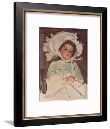 'Portrait Study', c1906-John Henry Frederick Bacon-Framed Giclee Print