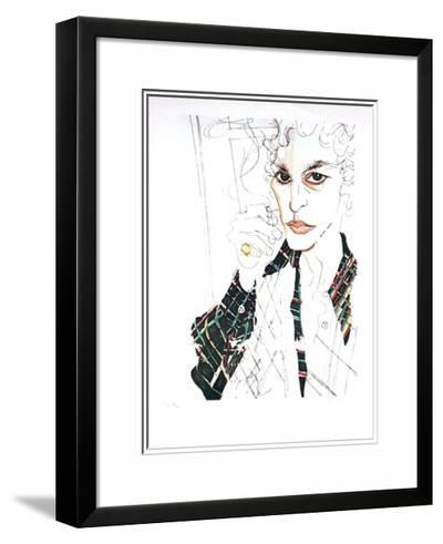 Portrait-Vasilios Janopoulos-Limited Edition Framed Print