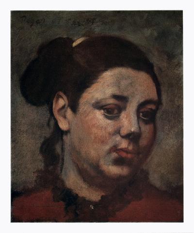 Portrait-Edgar Degas-Art Print