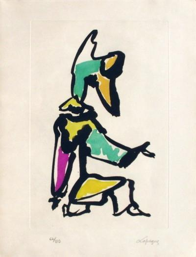 Portraits I : Le clown-Charles Lapicque-Limited Edition