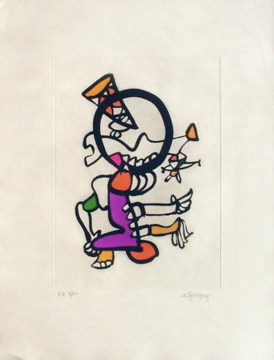 Portraits IX : Marionnettes-Charles Lapicque-Limited Edition
