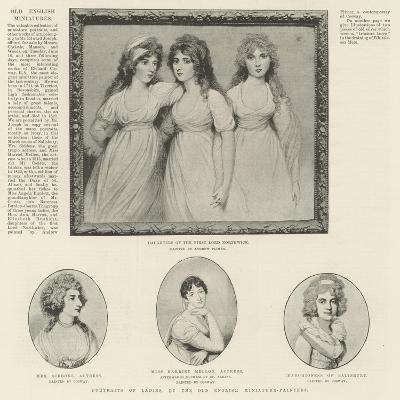 Portraits of Ladies--Giclee Print