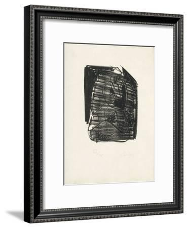 Portraits V : Mélancolie-Charles Lapicque-Framed Limited Edition