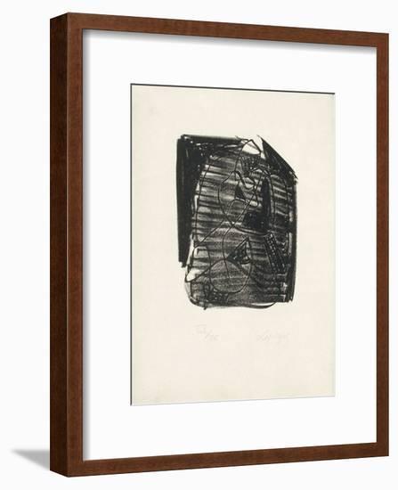 Portraits V : Mélancolie-Charles Lapicque-Framed Limited Edition