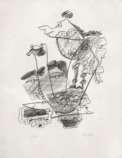 Portraits VIII : Aristophane-Charles Lapicque-Limited Edition