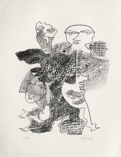 Portraits VIII : Hommage à Claudel-Charles Lapicque-Limited Edition