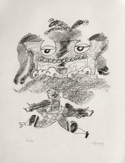 Portraits VIII : Le grand écart-Charles Lapicque-Limited Edition
