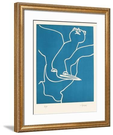 Portraits X : L'Alcyonide-Charles Lapicque-Framed Limited Edition